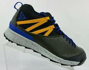 Nike Okwahn II 525367-300 Sequoia Black Blue Men's ACG Hiking Trail Shoes
