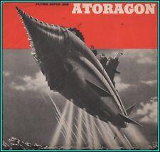 ATORAGON: FLYING SUPER SUB - Original VERY RARE Vintage PRESSBOOK - 1963