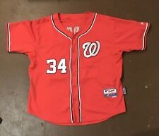 Bryce Harper Nationals Majestic Authentic Collection Cool Base Jersey Size 50