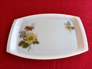 RETRO ! Lovely Pyrex Milk Glass Platter By JAJ England Free Postage !!
