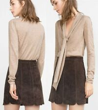 Zara Hip Length Wool Blend Jumpers & Cardigans for Women