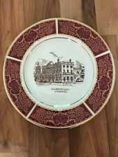 Beautiful Wall Display Plate Showing Alperton Hall, Liverpool
