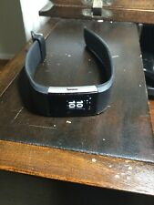 Fitbit Charge 2 Heart/Sleep/Fitness Tracker (Black) 2 Chargers