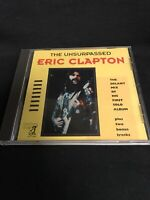 The Unsurpassed ERIC CLAPTON Delany Mix First Solo Album CD Yellow Dog 1992