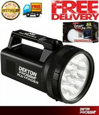 Dketon LED Large Work Torch 100mt Long Distance Lamp Light Lantern Camping Spot
