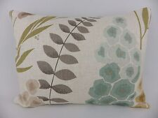 Harlequin Delphinia fabric Pillow Cushion Cover &Pad Floral Neutral Teal Mustard