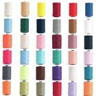 Hemline 1000m Overlocking and Sewing Thread Machine Or Hand Polyester