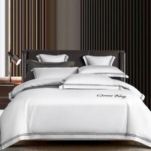 Long-staple Bedding Set Egyptian Bed Set Duvet Cover Bed Sheet Spread Fi Bed Set
