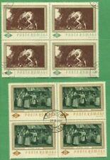 Timbres avec 10 timbres, sur art, artistes