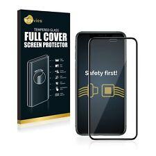 Full Cover Apple iPhone 11 Pro Max Schutzpanzer Glasfolie 9H Panzerfolie schwarz