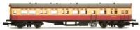 Dapol 2P-004-012 N Gauge BR Maroon/Cream Autocoach W189W