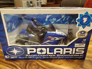 Polaris rc Snowmobile Radio Controlled
