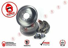 REAR BRAKE DRUMS SHOES WHEEL CYLINDERS PACK TOYOTA HILUX KUN26 GGN25 2005-2016