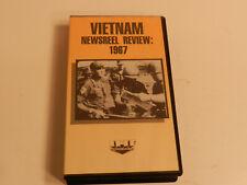 Vietnam Newsreel Review 1967 Ihf Vhs