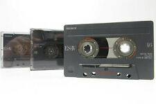 3x Sony ES IV Metal 46 - Cassette Tapes Vintage Prerecorded Sold As Blank Japan