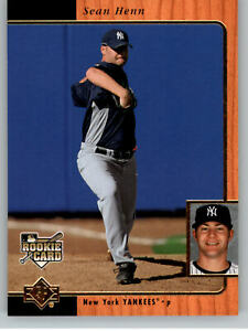 2007 SP Rookie Edition #257 Sean Henn RC - New York Yankees Rookie