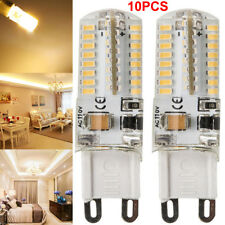 10 Pack LED G9 Warm/Daylight White LED Corn Bulb Lamp Light 110V-130V Dimmable