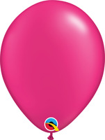 "100% BIODEGRADABLE LATEX BALLOON 11""(28CM) METALLIC MAGENTA PACK OF 100 BIRTH..."
