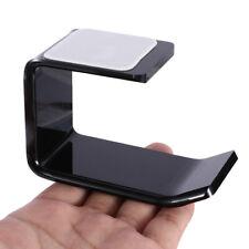 Black Universal Headphone Desk Bracket Hanger Earphone Wall/Desk Display Stand