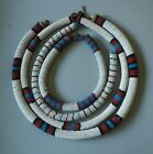 FOUR OLD ANTIQUE SOUTH AFRICAN TRIBAL ART ZULU XHOSA BEAD WORK COLLAR NECKLACES