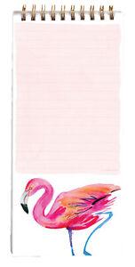 Magnetic Shopping List Flamingo