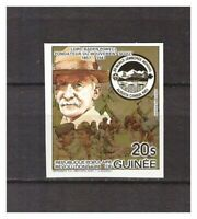 S14398) Guinee Guinea 1984 MNH Scout Baden Powel 1v Imperforated