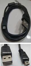 PENTAX Optio S55/Optio S5i cámara USB Data Sync Cable/Plomo Para PC Y MAC