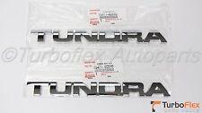 Toyota Tundra 2007-2013 Genuine Front Door Emblem Set of 2  75471-0C040
