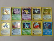 10 Holographic Pokemon Cards See Pictures Lot 2