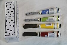 Caffco M. Bagwell 60803 Water Collection Spreader 4 Knife Set - New in Box See!