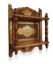 Handicraft Wooden Shelf Bracket -Temple  Mandir