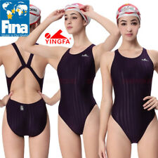 NWT YINGFA 982-4 RACING TRAINING SWIMSUIT M US GIRLS 12-14 MISS 2 FINA APPROVED!