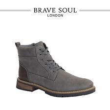 Brave Soul Lace Up Ankle Boots Lancaster