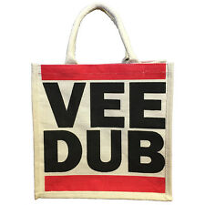 VEE DUB Jute Shopping Bag Reusable Bag For Life Recycling VW Gift Idea NEW 37030
