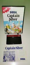 SEGA Master System Spiel CAPTAIN SILVER RetroGame CIB