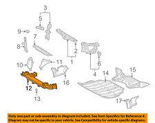 Lexus OEM 5320450040 01-03 LS430 Radiator Support Lower Air Guide 53204-50040