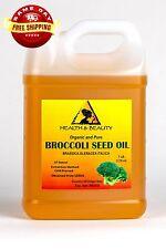 BROCCOLI SEED OIL ORGANIC COLD PRESSED ANTI-AGING PREMIUM FRESH 100% PURE 7 LB
