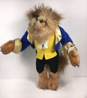 VTG Vintage 1992 Disney Beauty the Beast Prince Plush Stuffed Animal Doll