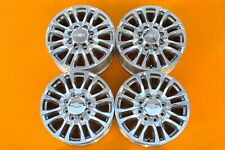 "Chevy Silverado 2500 3500 2020 Polished 20"" OEM Set of 4 8 Lug Wheels Rims 96485"
