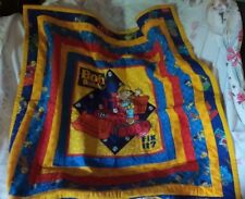 """Bob The Builder"" Child's Throw 34 X 34 inches Cotton  ""Hand Made"""