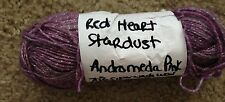 Red Heart Stardust Yarn~ANDROMEDA PINK~