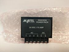 NEW OLD STOCK! MARTEL ELECTRONICS 24VDC/.175A 2400 PROCESS POWER PACK 24.75STS-3