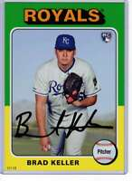 Brad Keller 2019 Topps Archives 5x7 #159 /49 Royals