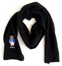 Polo Ralph Lauren Merino Wool Ski-Jacket Bear Classic Ribbed Sweater Ski Scarf