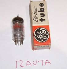 Vintage GE Vacuum Radio Tube 12AU7A General Electric Miniature Class A Amplifier