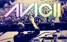 "022 Avicii - Tim Bergling Swedish DJ Remixer Music 22""x14"" Poster"