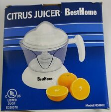 Best Home Electric Orange Juice Citrus Juicer