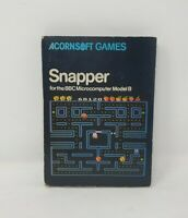 Acornsoft Games - Snapper for BBC Microcomputer Model B 1982 SBG04