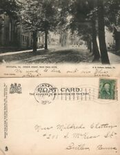INDIANA PA CHURCH STREET 1906 UNDIVIDED ANTIQUE POSTCARD