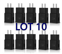 10X Adaptive Fast Charging Wall Charger Adapter Compatibl Samsung GalaxyS6 S7 S8